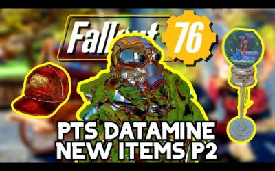 "NEW ITEMS Datamined In Fallout 76: Enclave ""Hare"" Power Armor & Modular Couch – Part: 2 (1/12/2021)"