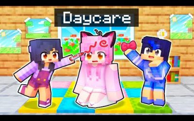 Pranking The DAYCARE Babysitter In Minecraft!