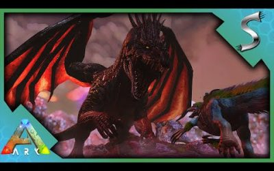 CAN MY THERIZINOS TAKE DOWN THE ALPHA DRAGON? – ARK Survival Evolved [E87]