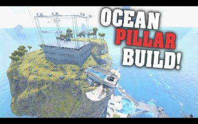 Building Ocean Pillar and Raiding a Meteor! | ARK PVP Official E#33