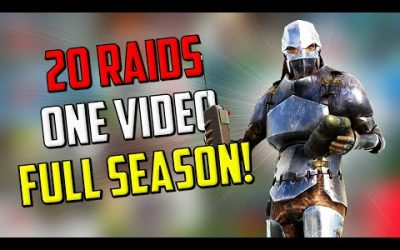 OVER 20 ARK RAIDS – Full ARKPOC Season in ONE VIDEO – Ark PvP