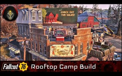 FALLOUT 76 | Charleston Rooftop Camp