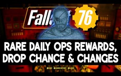 Rare Rewards List, Drop Chance & Upcoming Changes to Daily Ops in Fallout 76