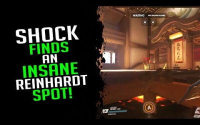 Shock Finds An Insane Reinhardt Spot! – Overwatch Streamer Moments Ep. 457